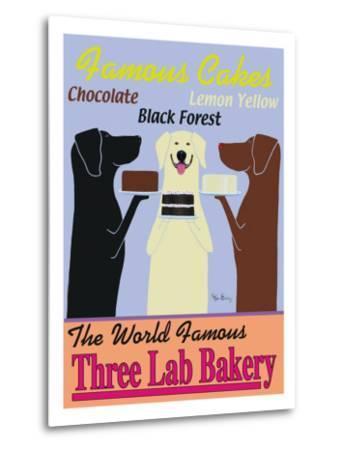 Three Lab Bakery-Ken Bailey-Metal Print