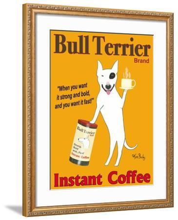 Bull Terrier Brand-Ken Bailey-Framed Premium Giclee Print