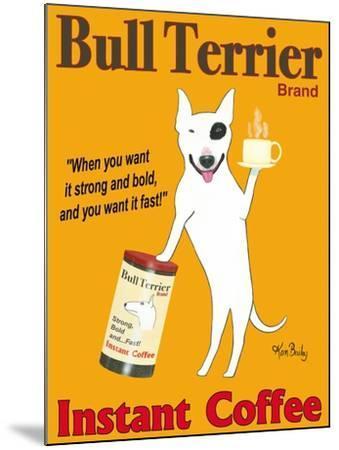 Bull Terrier Brand-Ken Bailey-Mounted Premium Giclee Print