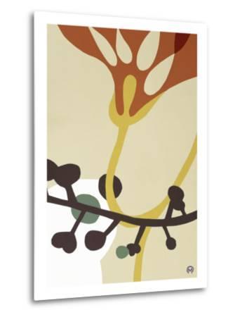 Dancing Flowers V-Mary Calkins-Metal Print