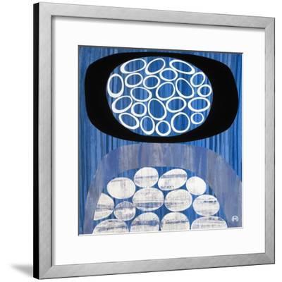Waterway II-Mary Calkins-Framed Premium Giclee Print