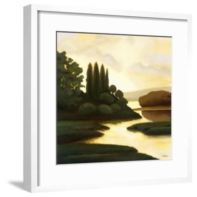 Serenity II-Mary Calkins-Framed Premium Giclee Print