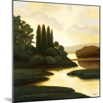 Serenity II-Mary Calkins-Mounted Premium Giclee Print