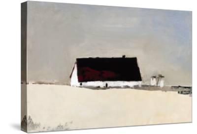 Big Barn and Silos-Sandra Pratt-Stretched Canvas Print