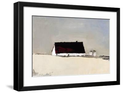 Big Barn and Silos-Sandra Pratt-Framed Giclee Print