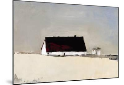Big Barn and Silos-Sandra Pratt-Mounted Giclee Print
