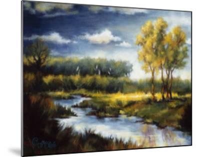 Stream and Field I-J^m^ Steele-Mounted Premium Giclee Print