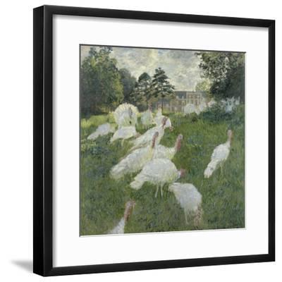 Les dindons-Claude Monet-Framed Giclee Print