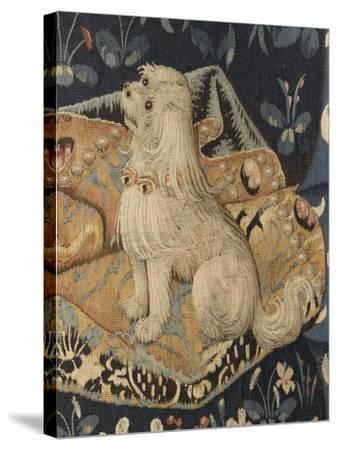 Tenture de la Dame à la Licorne : Le Goût--Stretched Canvas Print