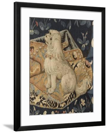 Tenture de la Dame à la Licorne : Le Goût--Framed Giclee Print
