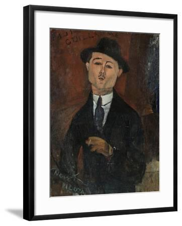 Paul Guillaume, Novo Pilota-Amedeo Modigliani-Framed Giclee Print