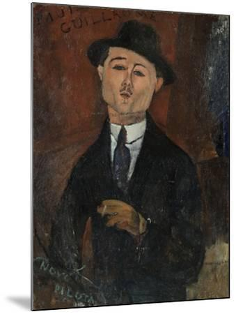 Paul Guillaume, Novo Pilota-Amedeo Modigliani-Mounted Giclee Print