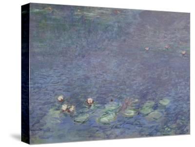 Les Nymphéas : Matin-Claude Monet-Stretched Canvas Print