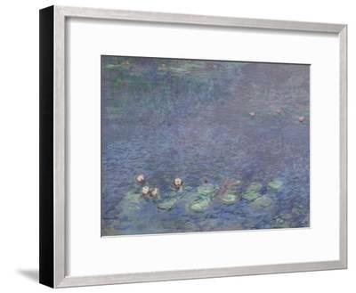Les Nymphéas : Matin-Claude Monet-Framed Giclee Print