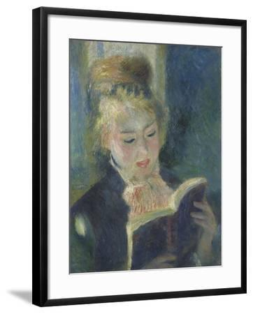 La liseuse-Pierre-Auguste Renoir-Framed Giclee Print