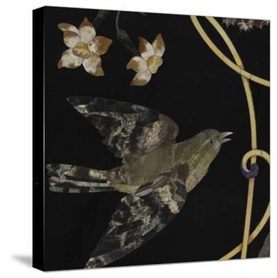 Plateau de table--Stretched Canvas Print