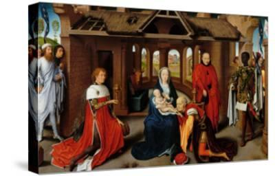 Triptych, Adoration of the Magi-Hans Memling-Stretched Canvas Print