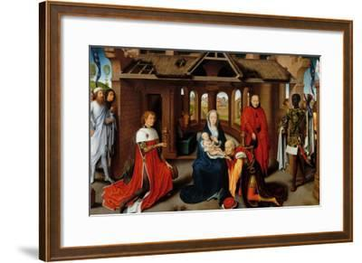 Triptych, Adoration of the Magi-Hans Memling-Framed Giclee Print
