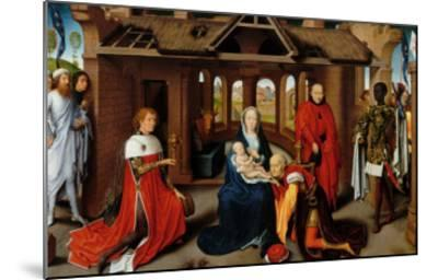 Triptych, Adoration of the Magi-Hans Memling-Mounted Giclee Print