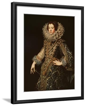 Portrait of Isabel of Bourbon--Framed Giclee Print