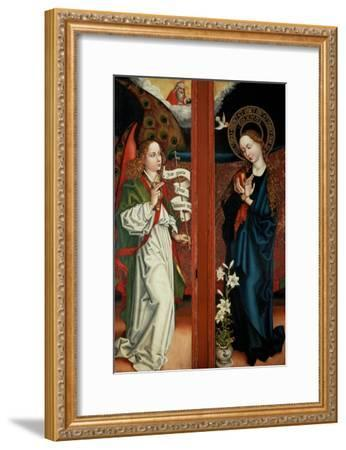 Annunciation-Martin Schongauer-Framed Giclee Print