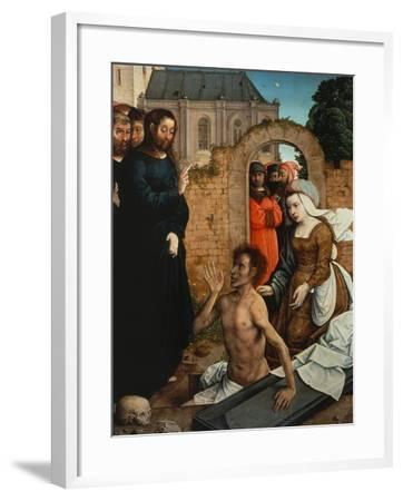 Raising of Lazarus-Juan de Flandes-Framed Giclee Print