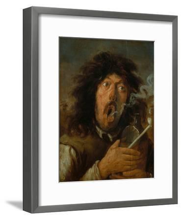 The Smoker-Joos Van Craesbeeck-Framed Giclee Print