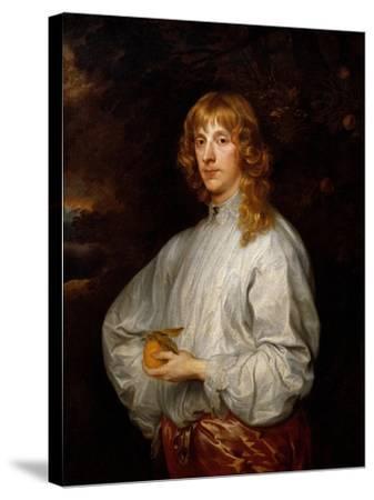 Jmes Stuart Duke of Lennox-Sir Anthony Van Dyck-Stretched Canvas Print