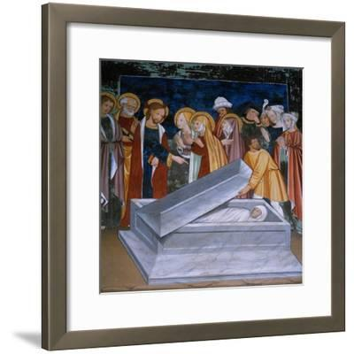 The Resurrection of Lazarus--Framed Giclee Print