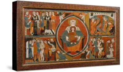 Altar Frontal from St. Margaret De Vilaseca, 12th Century--Stretched Canvas Print
