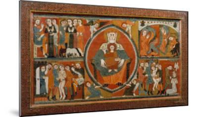Altar Frontal from St. Margaret De Vilaseca, 12th Century--Mounted Giclee Print