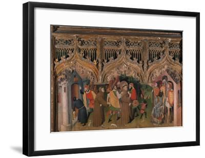 St. Francis before the Sultan-Frances Nicolas-Framed Giclee Print