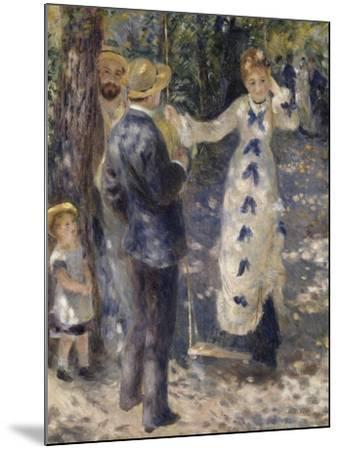 La balançoire-Pierre-Auguste Renoir-Mounted Giclee Print