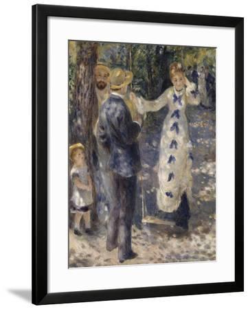 La balançoire-Pierre-Auguste Renoir-Framed Giclee Print