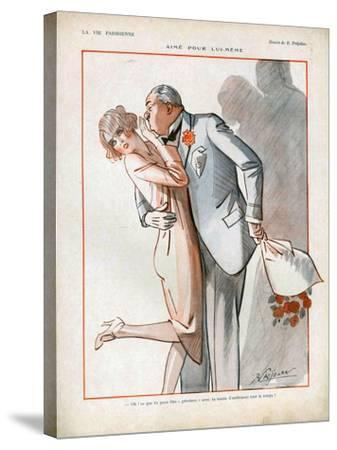 La Vie Parisienne, Magazine Plate, France, 1926--Stretched Canvas Print