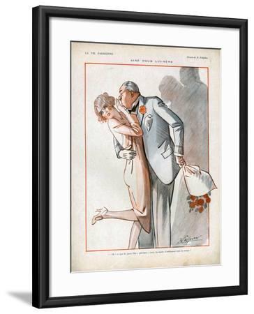 La Vie Parisienne, Magazine Plate, France, 1926--Framed Giclee Print