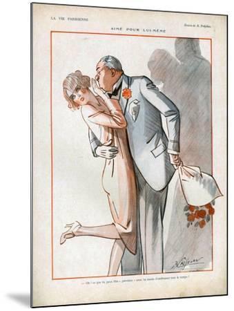 La Vie Parisienne, Magazine Plate, France, 1926--Mounted Giclee Print