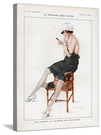La Vie Parisienne, Magazine Plate, France, 1918--Stretched Canvas Print