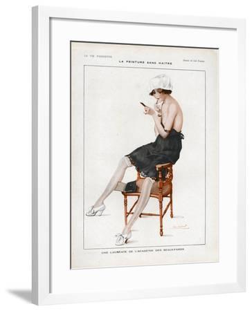 La Vie Parisienne, Magazine Plate, France, 1918--Framed Giclee Print
