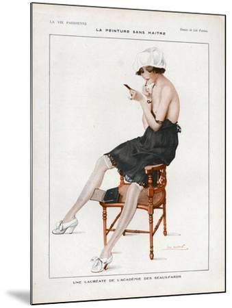 La Vie Parisienne, Magazine Plate, France, 1918--Mounted Giclee Print