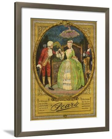 Pears, Magazine Advertisement, UK, 1910--Framed Giclee Print