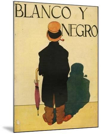 Blanco y Negro, Magazine Cover, Spain, 1930--Mounted Giclee Print