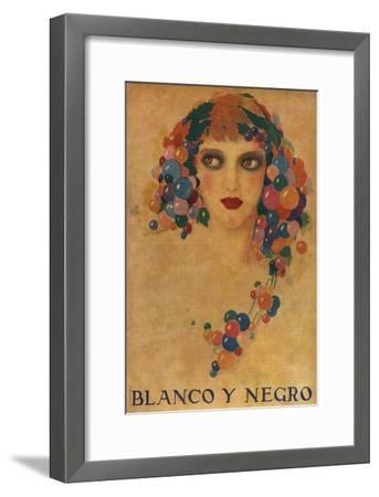 Blanco y Negro, Magazine Cover, Spain--Framed Giclee Print