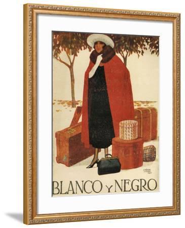 Blanco y Negro, Magazine Cover, Spain, 1920--Framed Giclee Print