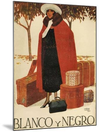 Blanco y Negro, Magazine Cover, Spain, 1920--Mounted Giclee Print