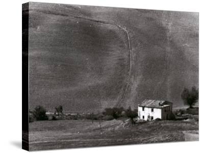 Tuscan Landscape-Vincenzo Balocchi-Stretched Canvas Print