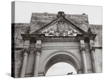 Triumphal Arch in Honor of Carlos V, in Lecce-A^ Villani-Stretched Canvas Print