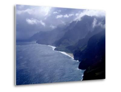 Na Pali Coast, Kauai, Hawaii-Michele Burgess-Metal Print
