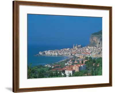 Cefalu, Sicily, Italy-Frank Chmura-Framed Photographic Print