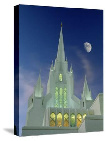 Mormon Temple, San Diego, California, USA-Richard Cummins-Stretched Canvas Print
